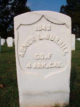 BURRILL (VETERAN UNION), ABNER L - Pulaski County, Arkansas | ABNER L BURRILL (VETERAN UNION) - Arkansas Gravestone Photos