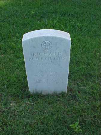 BURROUGHS (VETERAN WWI), RICHARD - Pulaski County, Arkansas | RICHARD BURROUGHS (VETERAN WWI) - Arkansas Gravestone Photos