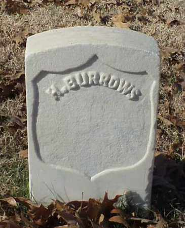 BURROWS (VETERAN UNION), H - Pulaski County, Arkansas | H BURROWS (VETERAN UNION) - Arkansas Gravestone Photos