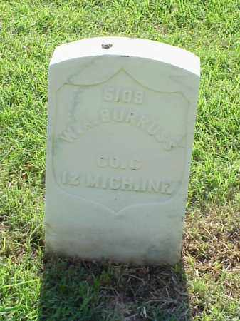 BURRUSS (VETERAN UNION), W A - Pulaski County, Arkansas | W A BURRUSS (VETERAN UNION) - Arkansas Gravestone Photos