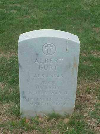 BURT (VETERAN WWII), ALBERT - Pulaski County, Arkansas | ALBERT BURT (VETERAN WWII) - Arkansas Gravestone Photos