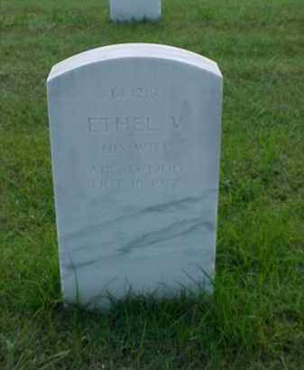 BURTON, ETHEL V - Pulaski County, Arkansas | ETHEL V BURTON - Arkansas Gravestone Photos