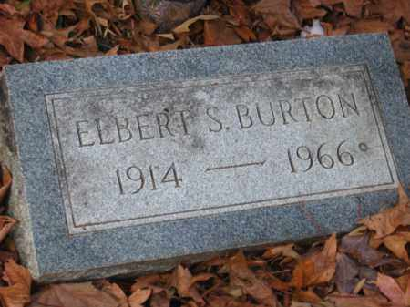 BURTON, ELBERT S - Pulaski County, Arkansas | ELBERT S BURTON - Arkansas Gravestone Photos