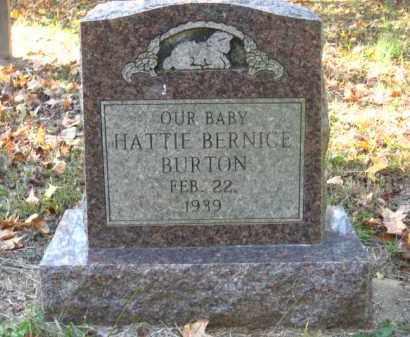 BURTON, HATTIE BERNICE - Pulaski County, Arkansas | HATTIE BERNICE BURTON - Arkansas Gravestone Photos