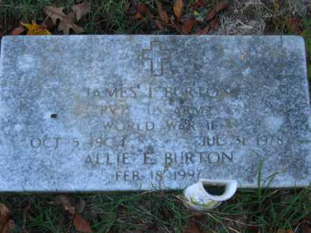 BURTON (VETERAN WWII), JAMES I - Pulaski County, Arkansas | JAMES I BURTON (VETERAN WWII) - Arkansas Gravestone Photos