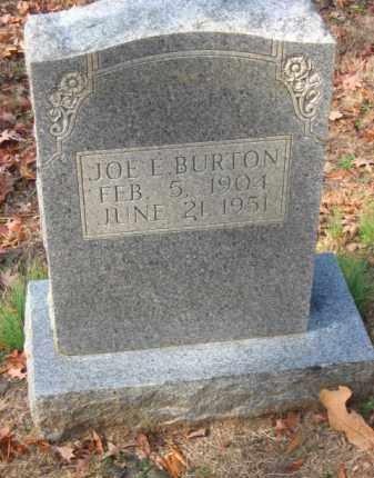 BURTON, JOE E - Pulaski County, Arkansas | JOE E BURTON - Arkansas Gravestone Photos