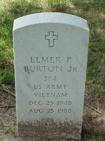 BURTON, JR. (VETERAN VIET), ELMER P - Pulaski County, Arkansas | ELMER P BURTON, JR. (VETERAN VIET) - Arkansas Gravestone Photos