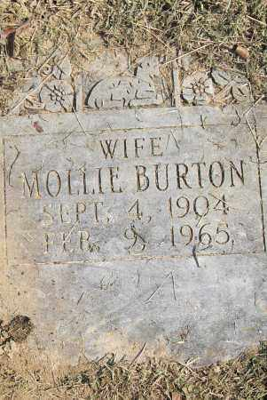 BURTON, MOLLIE - Pulaski County, Arkansas | MOLLIE BURTON - Arkansas Gravestone Photos