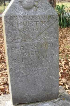 BURTON, SIDNEY CHRISTIAN - Pulaski County, Arkansas | SIDNEY CHRISTIAN BURTON - Arkansas Gravestone Photos