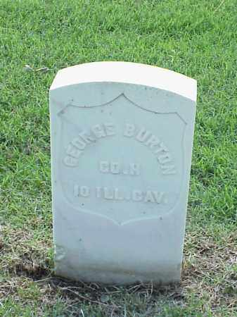 BURTON (VETERAN UNION), GEORGE - Pulaski County, Arkansas | GEORGE BURTON (VETERAN UNION) - Arkansas Gravestone Photos