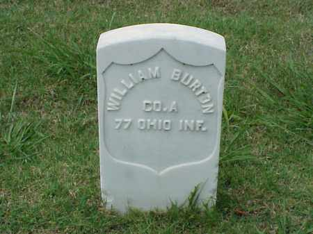 BURTON (VETERAN UNION), WILLIAM - Pulaski County, Arkansas | WILLIAM BURTON (VETERAN UNION) - Arkansas Gravestone Photos