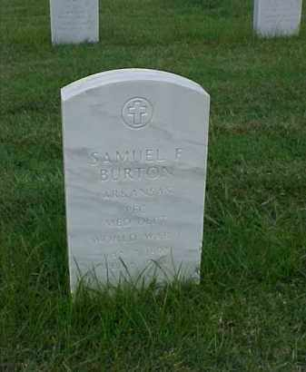 BURTON (VETERAN WWI), SAMUEL F - Pulaski County, Arkansas | SAMUEL F BURTON (VETERAN WWI) - Arkansas Gravestone Photos