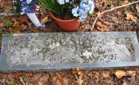 BUSBY, MARGARET J - Pulaski County, Arkansas | MARGARET J BUSBY - Arkansas Gravestone Photos