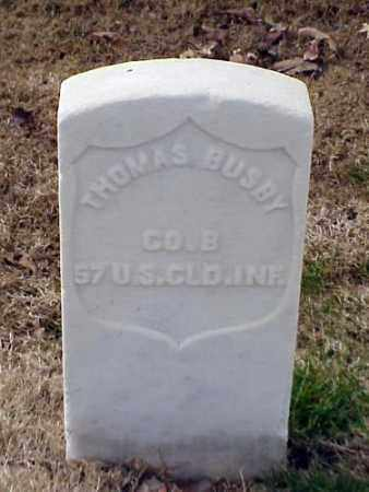 BUSBY (VETERAN UNION), THOMAS - Pulaski County, Arkansas | THOMAS BUSBY (VETERAN UNION) - Arkansas Gravestone Photos