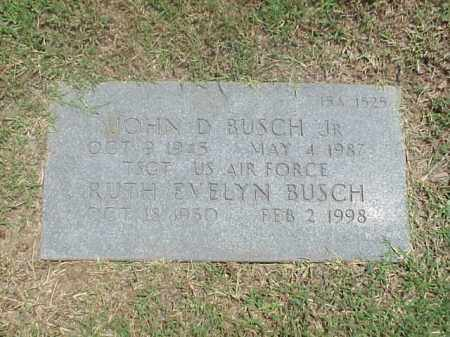 BUSCH, RUTH EVELYN - Pulaski County, Arkansas | RUTH EVELYN BUSCH - Arkansas Gravestone Photos