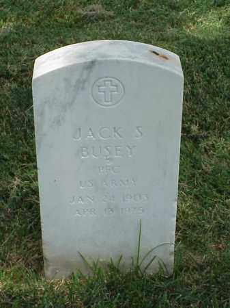 BUSEY (VETERAN), JACK S - Pulaski County, Arkansas | JACK S BUSEY (VETERAN) - Arkansas Gravestone Photos