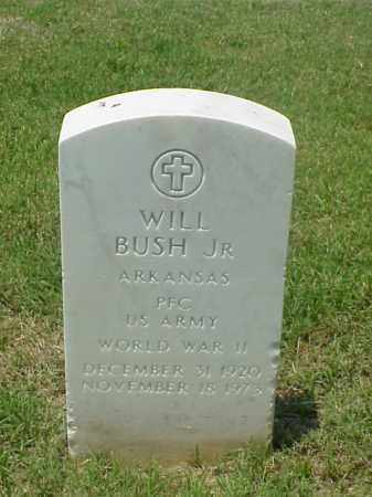 BUSH, JR (VETERAN WWII), WILL - Pulaski County, Arkansas | WILL BUSH, JR (VETERAN WWII) - Arkansas Gravestone Photos