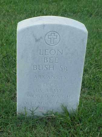 BUSH, SR (VETERAN WWII), LEON BEE - Pulaski County, Arkansas | LEON BEE BUSH, SR (VETERAN WWII) - Arkansas Gravestone Photos