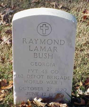 BUSH (VETERAN WWI), RAYMOND LAMAR - Pulaski County, Arkansas | RAYMOND LAMAR BUSH (VETERAN WWI) - Arkansas Gravestone Photos