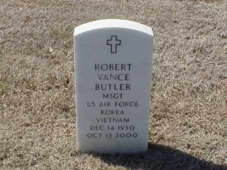 BUTLER  (VETERAN 2 WARS), ROBERT VANCE - Pulaski County, Arkansas | ROBERT VANCE BUTLER  (VETERAN 2 WARS) - Arkansas Gravestone Photos
