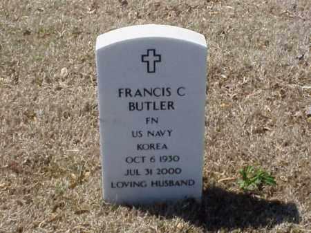 BUTLER  (VETERAN KOR), FRANCIS C - Pulaski County, Arkansas | FRANCIS C BUTLER  (VETERAN KOR) - Arkansas Gravestone Photos