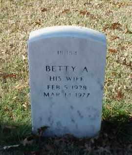BUTLER, BETTY A - Pulaski County, Arkansas | BETTY A BUTLER - Arkansas Gravestone Photos