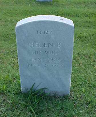 BUTLER, HELEN B - Pulaski County, Arkansas | HELEN B BUTLER - Arkansas Gravestone Photos