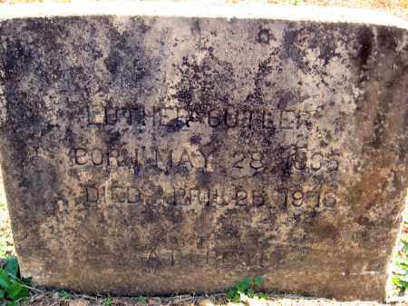 BUTLER, LUTHER - Pulaski County, Arkansas | LUTHER BUTLER - Arkansas Gravestone Photos
