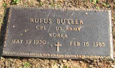 BUTLER  (VETERAN KOR), RUFUS - Pulaski County, Arkansas | RUFUS BUTLER  (VETERAN KOR) - Arkansas Gravestone Photos