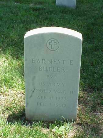 BUTLER (VETEAN WWII), EARNEST E - Pulaski County, Arkansas | EARNEST E BUTLER (VETEAN WWII) - Arkansas Gravestone Photos