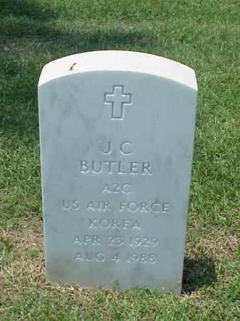 BUTLER (VETERAN KOR), J C - Pulaski County, Arkansas | J C BUTLER (VETERAN KOR) - Arkansas Gravestone Photos
