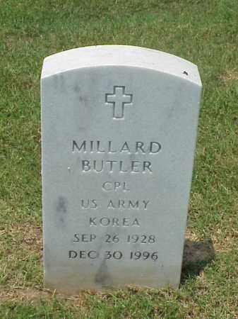 BUTLER (VETERAN KOR), MILLARD - Pulaski County, Arkansas | MILLARD BUTLER (VETERAN KOR) - Arkansas Gravestone Photos
