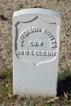 BUTLER (VETERAN UNION), JEFFERSON - Pulaski County, Arkansas | JEFFERSON BUTLER (VETERAN UNION) - Arkansas Gravestone Photos