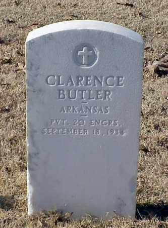 BUTLER (VETERAN WWI), CLARENCE - Pulaski County, Arkansas | CLARENCE BUTLER (VETERAN WWI) - Arkansas Gravestone Photos