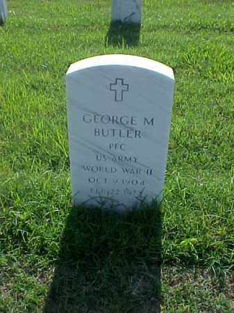 BUTLER (VETERAN WWII), GEORGE MARVIN - Pulaski County, Arkansas | GEORGE MARVIN BUTLER (VETERAN WWII) - Arkansas Gravestone Photos
