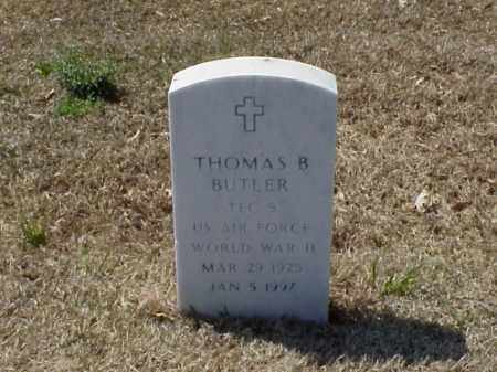 BUTLER (VETERAN WWII), THOMAS B - Pulaski County, Arkansas | THOMAS B BUTLER (VETERAN WWII) - Arkansas Gravestone Photos