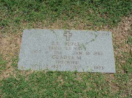 BUTLER (VETERAN), Z L - Pulaski County, Arkansas | Z L BUTLER (VETERAN) - Arkansas Gravestone Photos