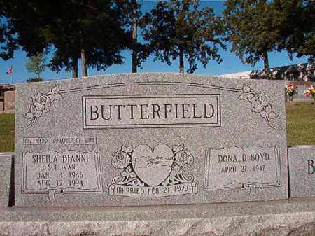BUTTERFIELD, SHEILA DIANNE - Pulaski County, Arkansas | SHEILA DIANNE BUTTERFIELD - Arkansas Gravestone Photos