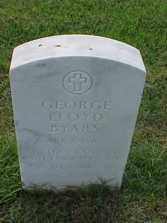 BYARS (VETERAN WWII), GEORGE LLOYD - Pulaski County, Arkansas | GEORGE LLOYD BYARS (VETERAN WWII) - Arkansas Gravestone Photos