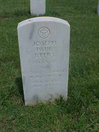 BYERS (VETERAN WWII), JOSEPH PAUL - Pulaski County, Arkansas | JOSEPH PAUL BYERS (VETERAN WWII) - Arkansas Gravestone Photos
