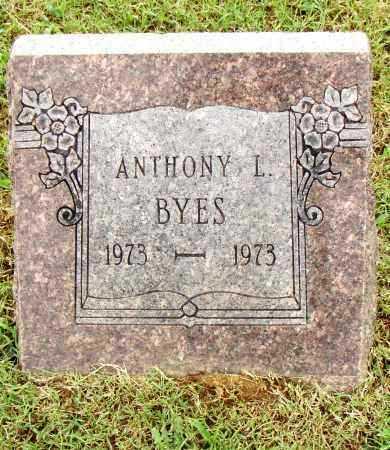 BYES, ANTHONY L. - Pulaski County, Arkansas | ANTHONY L. BYES - Arkansas Gravestone Photos
