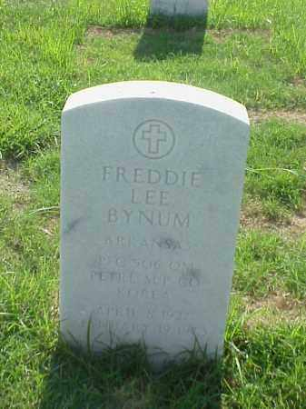 BYNUM (VETERAN KOR), FREDDIE LEE - Pulaski County, Arkansas | FREDDIE LEE BYNUM (VETERAN KOR) - Arkansas Gravestone Photos