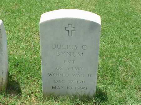 BYNUM (VETERAN WWII), JULIUS C - Pulaski County, Arkansas | JULIUS C BYNUM (VETERAN WWII) - Arkansas Gravestone Photos