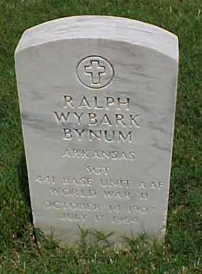 BYNUM (VETERAN WWII), RALPH WYBARK - Pulaski County, Arkansas | RALPH WYBARK BYNUM (VETERAN WWII) - Arkansas Gravestone Photos