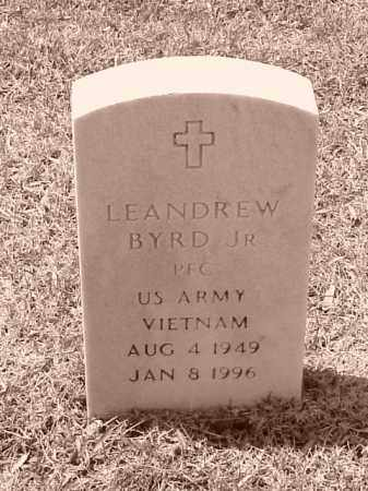 BYRD, JR (VETERAN VIET), LEANDREW - Pulaski County, Arkansas | LEANDREW BYRD, JR (VETERAN VIET) - Arkansas Gravestone Photos