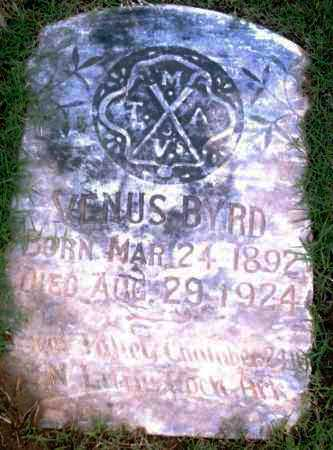 BYRD, VENUS - Pulaski County, Arkansas | VENUS BYRD - Arkansas Gravestone Photos