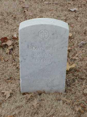 BYRD (VETERAN 2 WARS), DANIEL BRIAN - Pulaski County, Arkansas | DANIEL BRIAN BYRD (VETERAN 2 WARS) - Arkansas Gravestone Photos