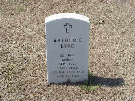 BYRD (VETERAN KOR), ARTHUR E - Pulaski County, Arkansas | ARTHUR E BYRD (VETERAN KOR) - Arkansas Gravestone Photos