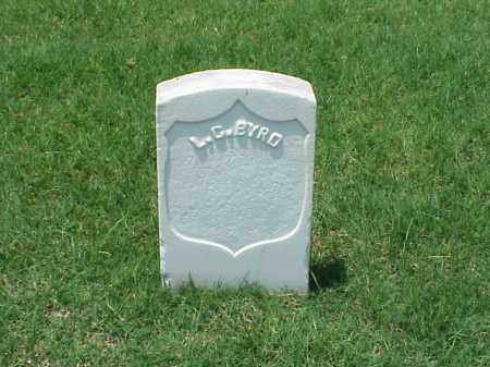 BYRD (VETERAN UNION), L C - Pulaski County, Arkansas | L C BYRD (VETERAN UNION) - Arkansas Gravestone Photos