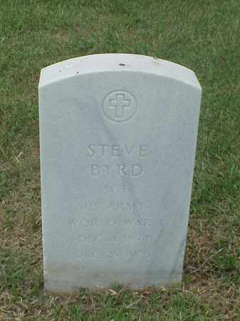 BYRD (VETERAN WWI), STEVE - Pulaski County, Arkansas | STEVE BYRD (VETERAN WWI) - Arkansas Gravestone Photos